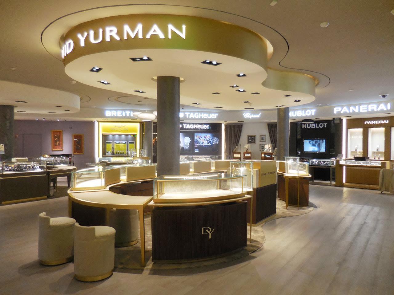 construccion de mobiliario comercial david yurman los cabos